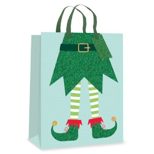 Gift Bag - Elf Legs - Ex Large